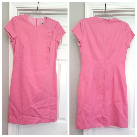 J. Mclaughlin pink textured dress 4